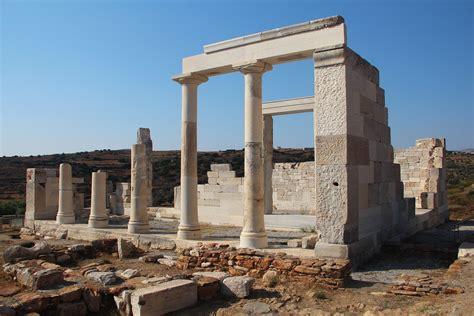 turisti per caso paros demetra temple naxos viaggi vacanze e turismo turisti