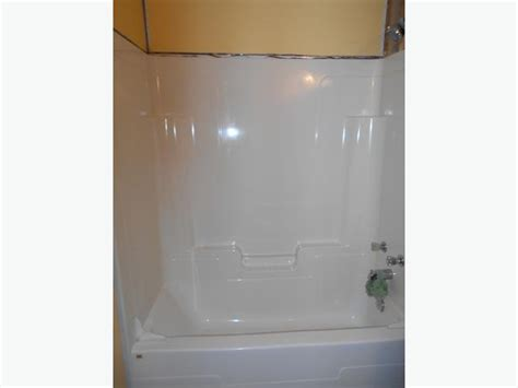 one piece bathtub with surround used 1 piece tub surround prince county pei