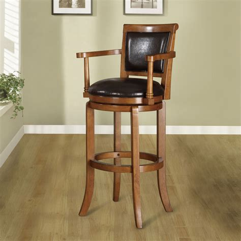 30 inch swivel bar stools manchester 30 inch oak finish swivel bar stool ebay