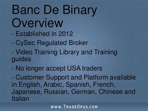 banc de binary demo banc de binary demo konto invested iq