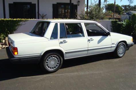 purchase   volvo  gl sedan   original miles virtually brand   san