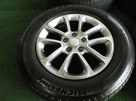 Jeep Grand 18 Wheels 18 Quot 2014 Factory Jeep Grand Limited Wheels Oem