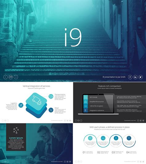 25 Awesome Powerpoint Templates With Cool Ppt Designs Powerpoint Theme Template