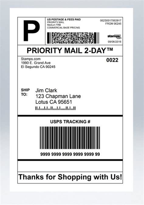 printable usps labels printable shipping labels bing images