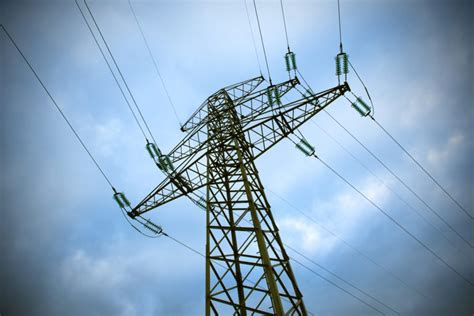 picture voltage wires electricity tower energy sky