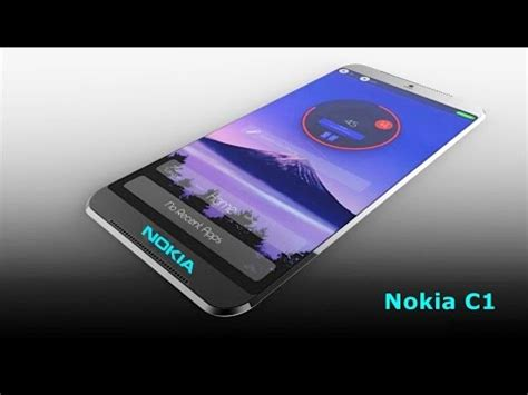 nokia mobile 4g 2016 new upcoming nokia c1 4g android smartphone youtube