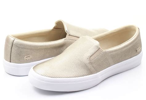 shoes on lacoste slip on gazon 161caw0125 2m2 shop for