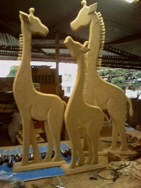 imagenes de jirafas en madera country moldes de jirafas en mdf imagui