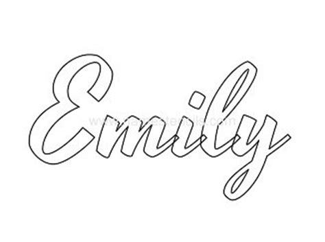 coloring pages with the name emily printable quotes to color emily quotesgram