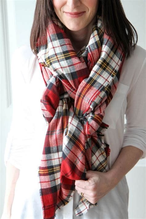 how to make a blanket scarf momadvice