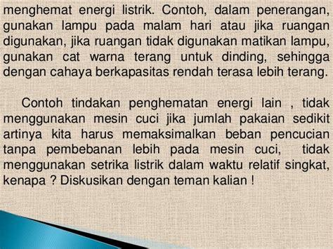 Setrika Hemat Energi energi dan daya listrik