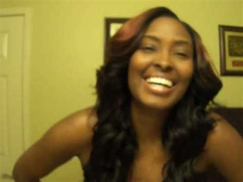 quickweave with side part! part 2 finished look!! youtube