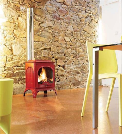 wood burning stove home improvements