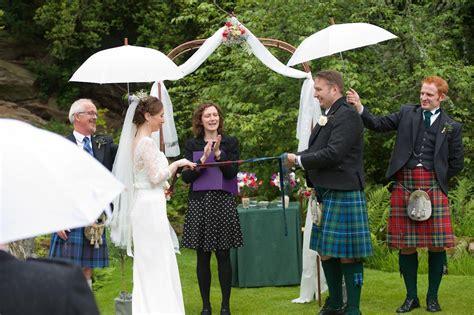 Wedding Ceremony Handfasting by Handfasting Ribbons