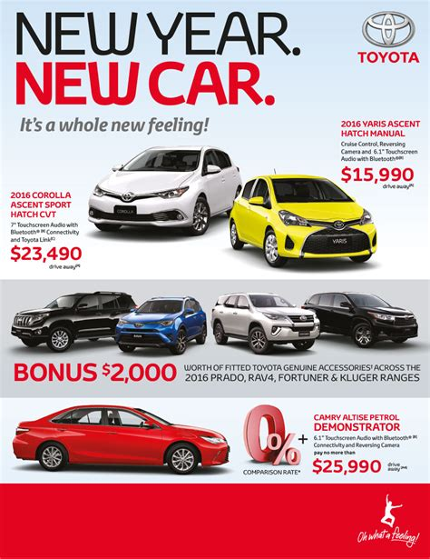 Toyota Special Offers Special Offers Berwick Toyota