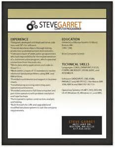 free modern resume template 9 free resume templates