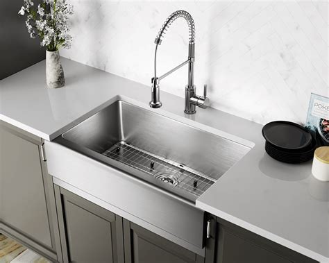 Sinks Stainless Steel by 405 Single Bowl Stainless Steel Apron Sink