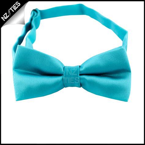 turquoise aqua blue boys bow tie nz ties