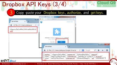 dropbox api v2 nicercover v2 a serverless webapp for social networking