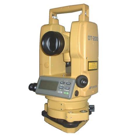 Electronic Survey - dt 205 electronic digital theodolite theodolites