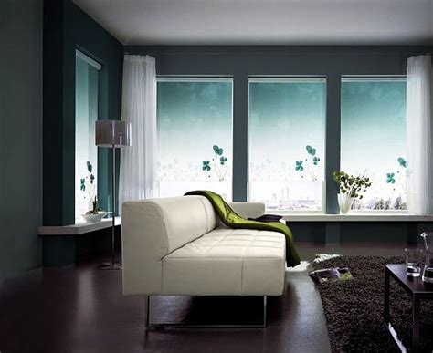 Living Room Roller Blinds Transforming A Room With Patterns