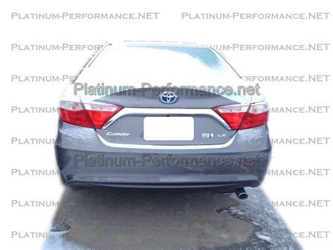 Toyota Camry Exhaust 2015 2016 Toyota Camry Exhaust Tip Stainless Steel Ebay
