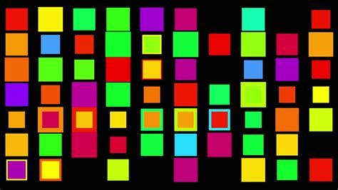 color matrix 4k vj color square neon light array matrix scan background