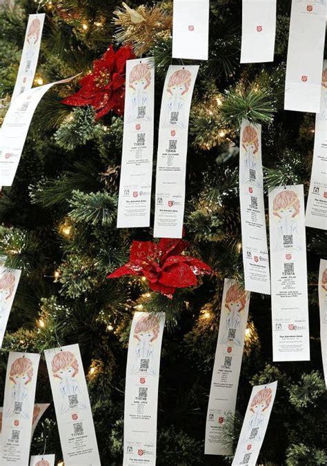 salvation army tree salvation army kicks tree charity efforts