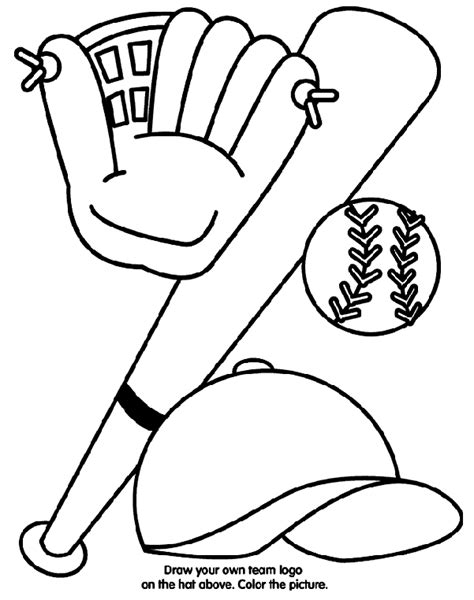 crayola coloring pages online games baseball equipment crayola ca