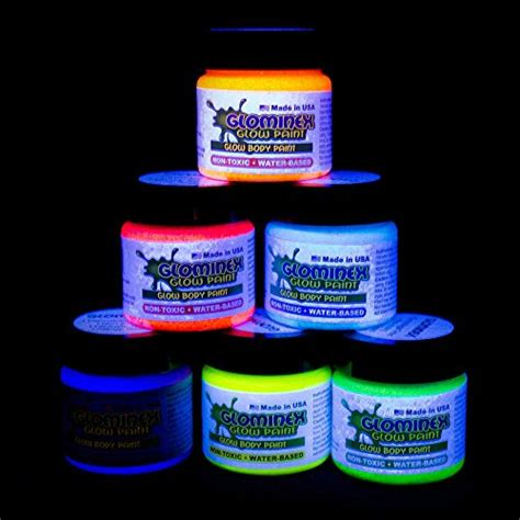 environmentally friendly glow in the paint glominex ah921 glow in the and paint 1oz