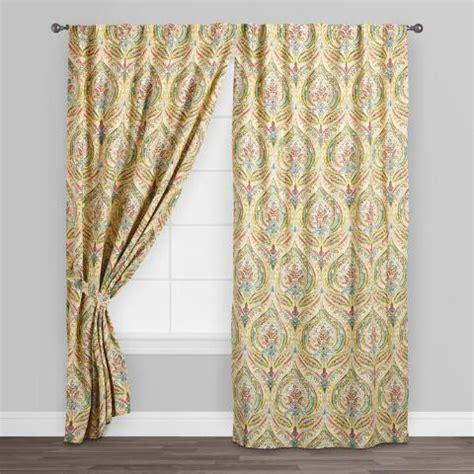 ogee curtains multicolor ogee concealed tab top curtains set of 2