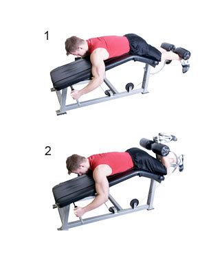 leg curl bench exercises beginner exercise archives gain