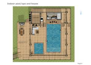 mansion house plans indoor pool spa home building plans