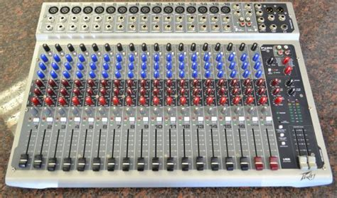 Mixer Peavey Pv 20 Usb 20 Channel Original peavey pv20 usb 20 channel mixing console dj mixer image