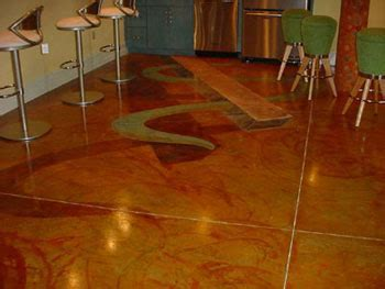 Faux Paint Technique For Concrete Floor   Painting   DIY