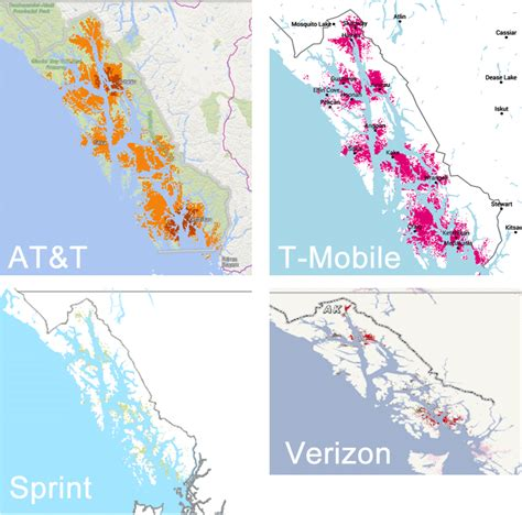 us cellular coverage map alaska alaska cell phone coverage map maps map usa images free