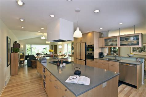 tri level home kitchen design tri level transformed kitchen contemporary kitchen