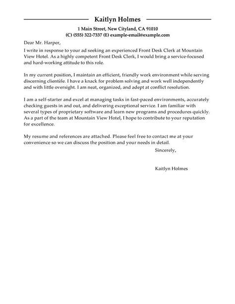 Firm Clerk Cover Letter by Sle Cover Letter For Registration Officer Cover Letter Templates
