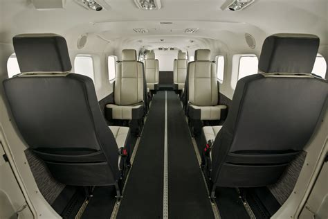 caravan interiors cessna unveils new standard production interiors for
