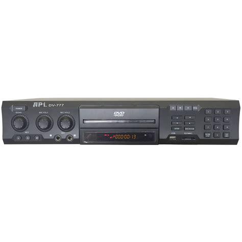 Disk Karaoke Player api dv 777 professional dvd cd g mp4 karaoke player