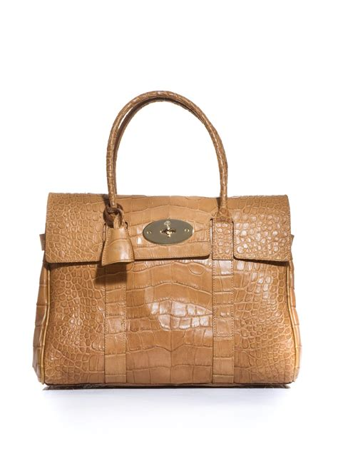Mulberry Bayswater Handbag by Mulberry Sted Leather Bayswater Bag In Brown Lyst