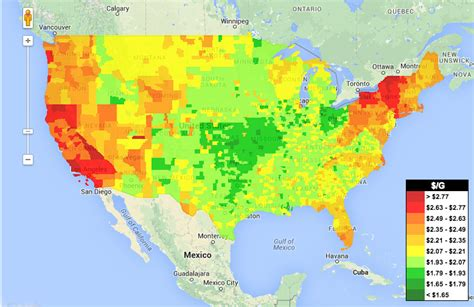 cheapest states in usa look at how cheap gas is everywhere huffpost
