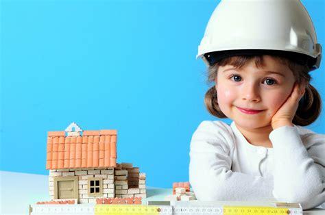 little girl house self defined leadership