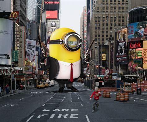 designcrowd san francisco minions taking over famous places all around the world