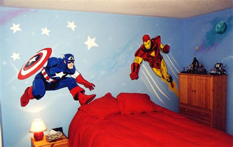 hero themes gallery manager superhero themed furniture bring cartoon characters to