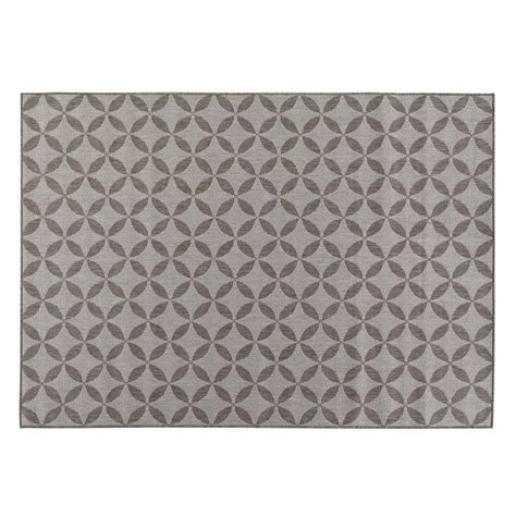 Home Depot Area Rugs 4x6 Ottomanson Jardin Collection Contemporary Design Gray 3 Ft 1 In X 5 Ft 3 In Outdoor
