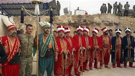 ottoman military band ottoman military band performs at turkey syria border