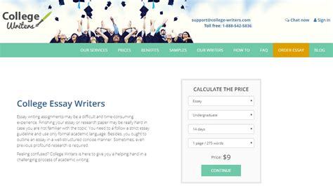 Best College Essay Writers Service by College Writers Review Best Essay Writing Services