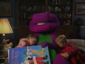 Backyard Animal Sounds Barney Reads Quot Twas The Night Before Christmas Quot 1990