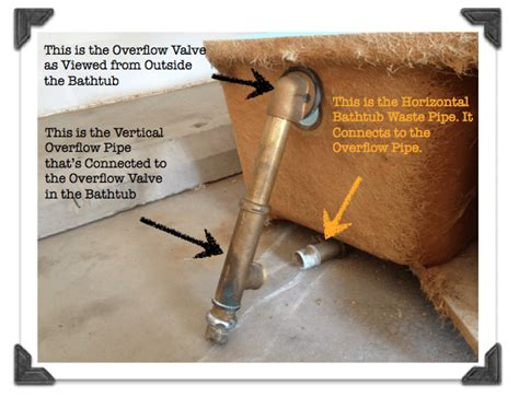 bathtub overflow leaking diy bathroom remodeling phase 1 how to install a new bathtub